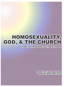 Homosexuality, God, and The Church Cover