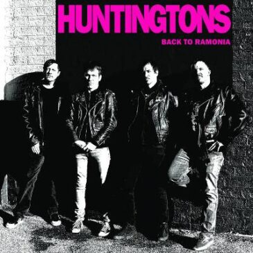 The Huntingtons and Burnt Toast Vinyl Re-Issue 'Back to Romania'